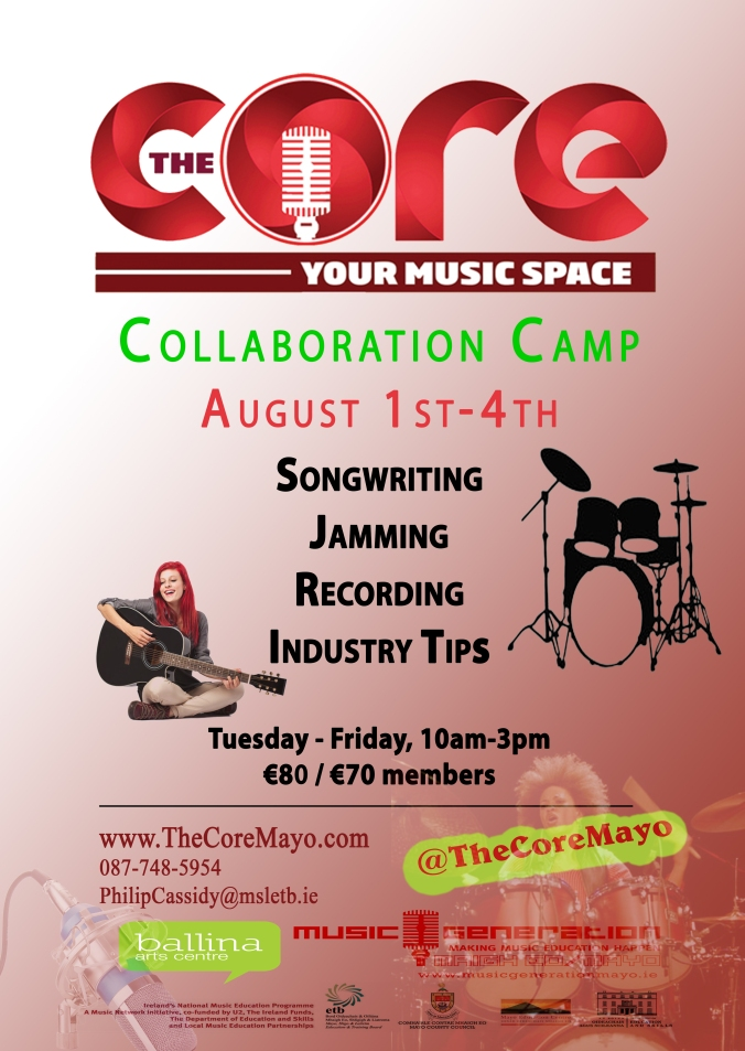 Core Poster Collaboration Camp August