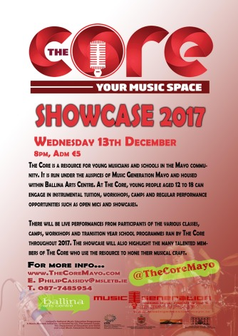 The Core Showcase 2017
