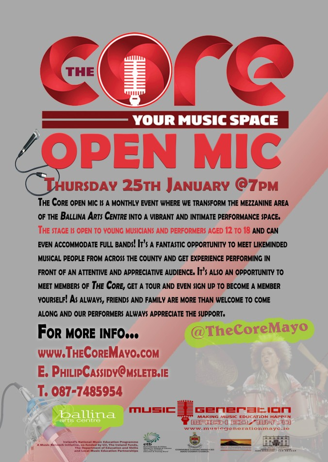 The Core Open Jan 25th 2018
