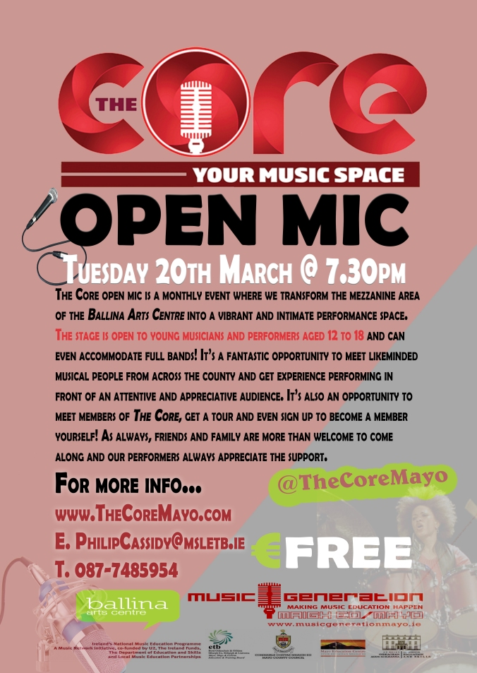 The Core Open Mar 20th 2018