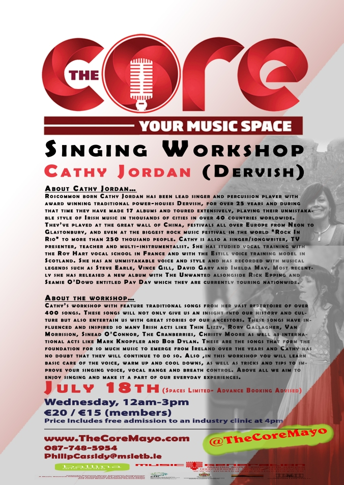 Core Poster Cathy Jordan Workshop