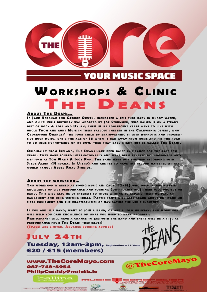 Core Poster The Deans