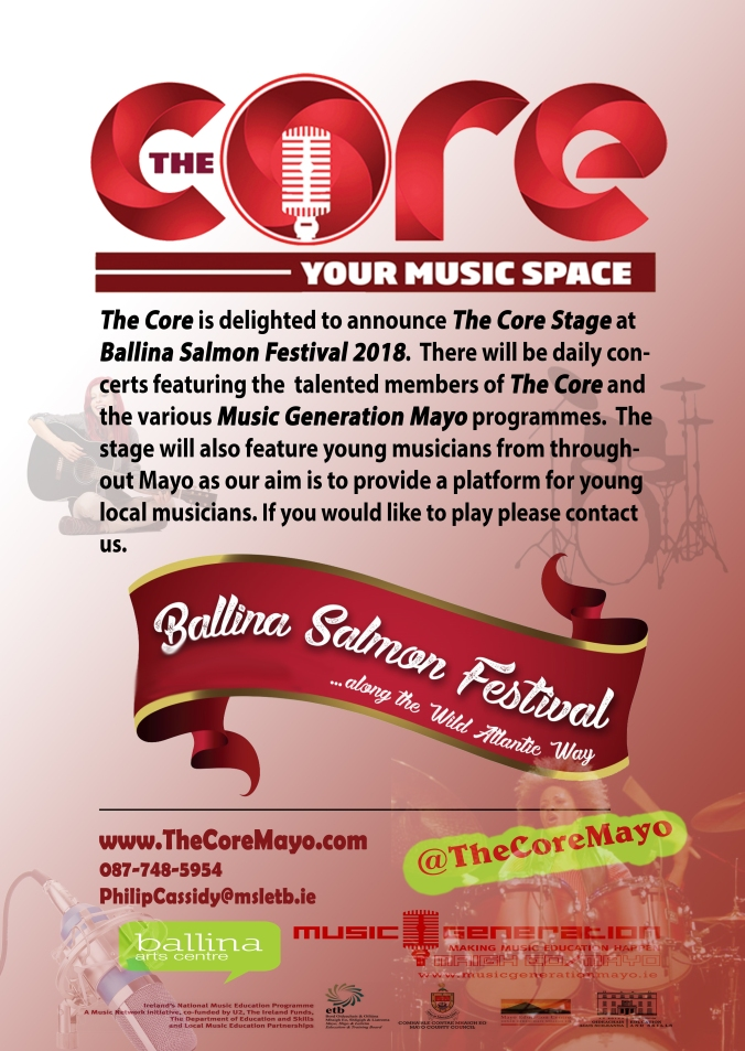 The Core Stage Poster BSF 2018