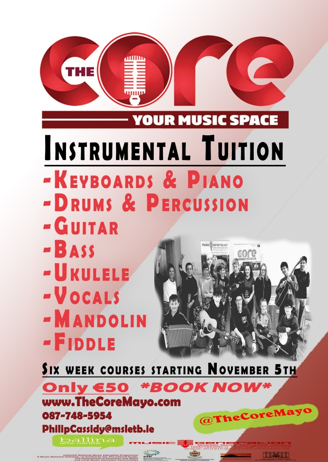 Core Poster Nov - December tuition
