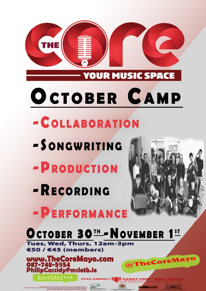 Core Poster October Camp 2018