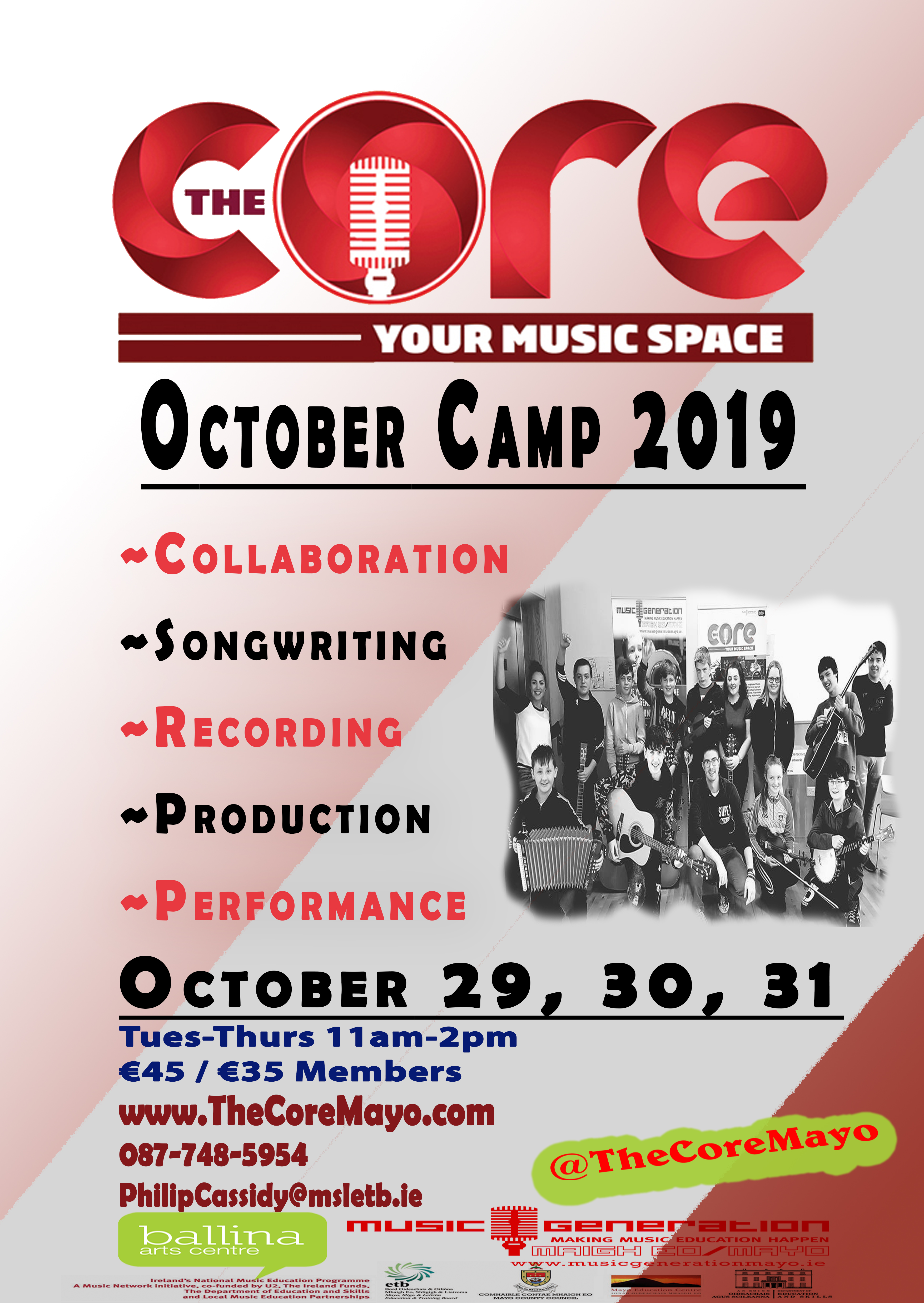 The Core October Camp 2019